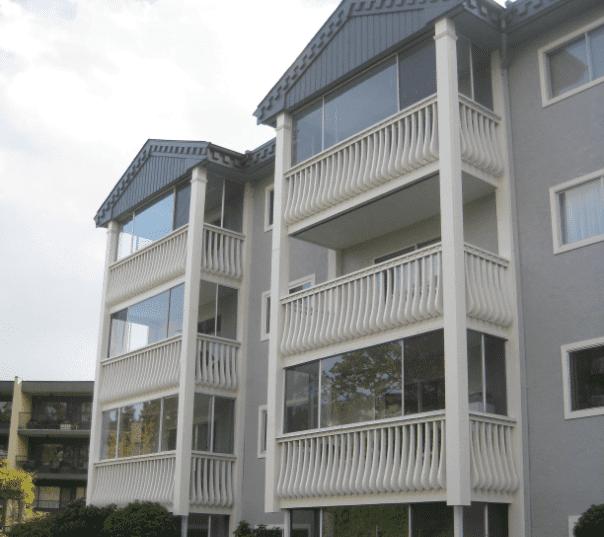 Best exterior painted strata condo