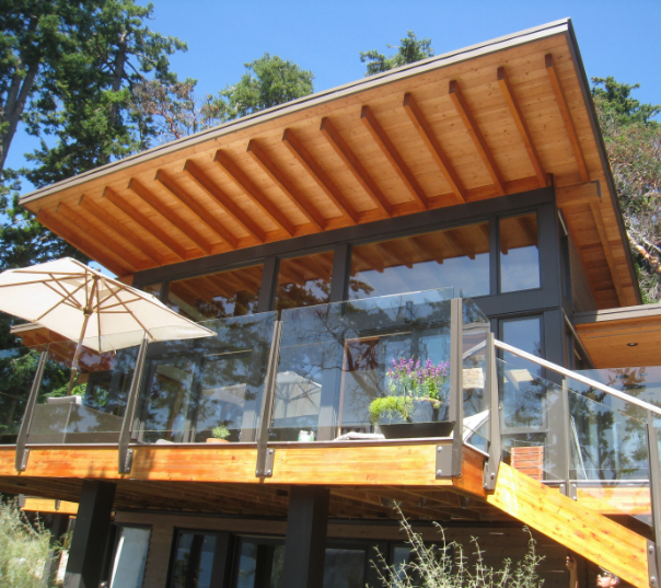 Custom exterior painted home